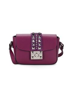 Valentino Yasmin Leather Stud Crossbody Bag
