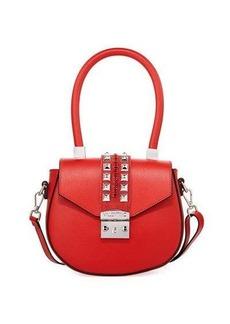 Valentino By Mario Valentino Yolande Palmellato Studded Shoulder Bag