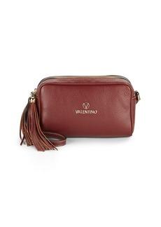 Valentino by Mario Valentino Mila Zippered Leather Crossbody Bag