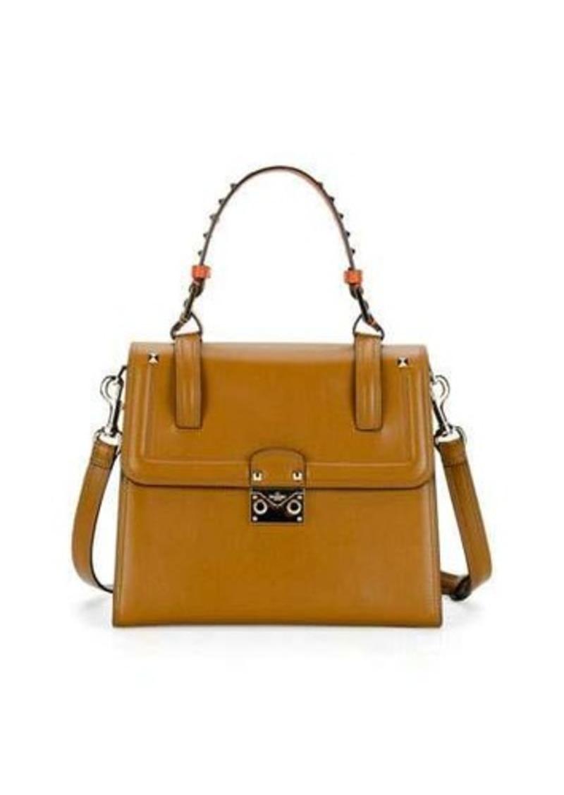 2114357eef Valentino Valentino Cabana Medium Rockstud Top-Handle Satchel Bag ...
