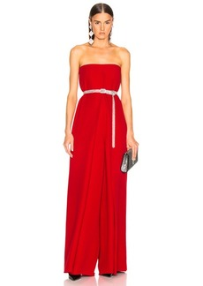 Valentino Cady Couture Strapless Jumpsuit