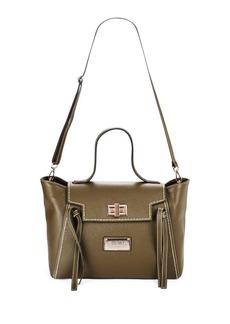 Valentino by Mario Valentino Camilla Leather Shoulder Bag