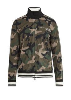 Valentino Camouflage-print mesh track jacket
