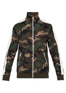 Valentino Camouflage-print track top