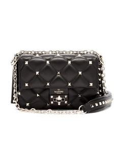 Valentino Candystud leather cross-body bag