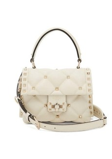 Valentino Candystud mini quilted leather cross-body bag