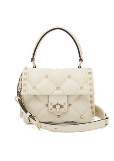 Valentino Candystud quilted leather cross-body bag