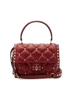 Valentino Candystud quilted-leather shoulder bag