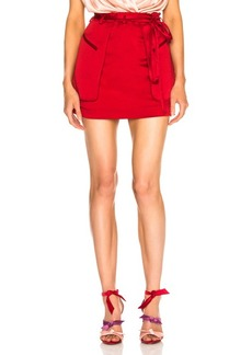 Valentino Cargo Mini Skirt