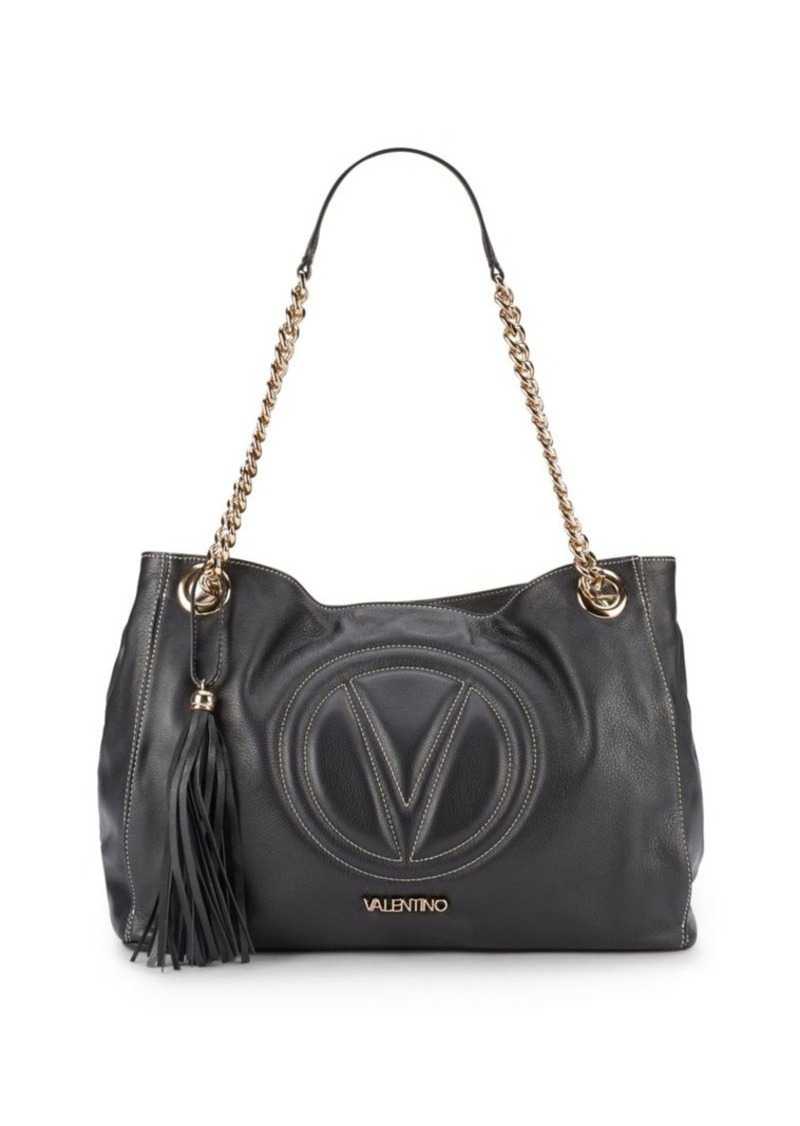 Valentino by Mario Valentino Verra Chain Strap Leather Handbag