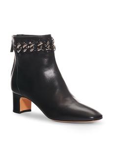 Valentino Chain Woven Bootie (Women)