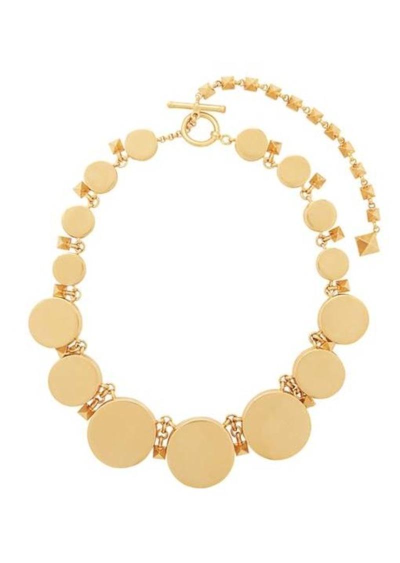 Valentino Circular Rockstud-embellished choker necklace