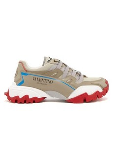 Valentino Climbers low-top leather trainers