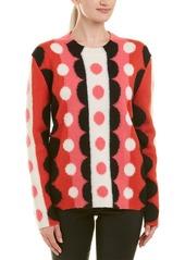 Valentino Colorblocked Wool Sweater