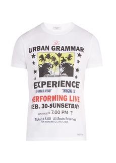 Valentino Concert crew-neck cotton T-shirt