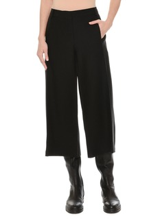 Valentino Crepe Couture Culotte Pants