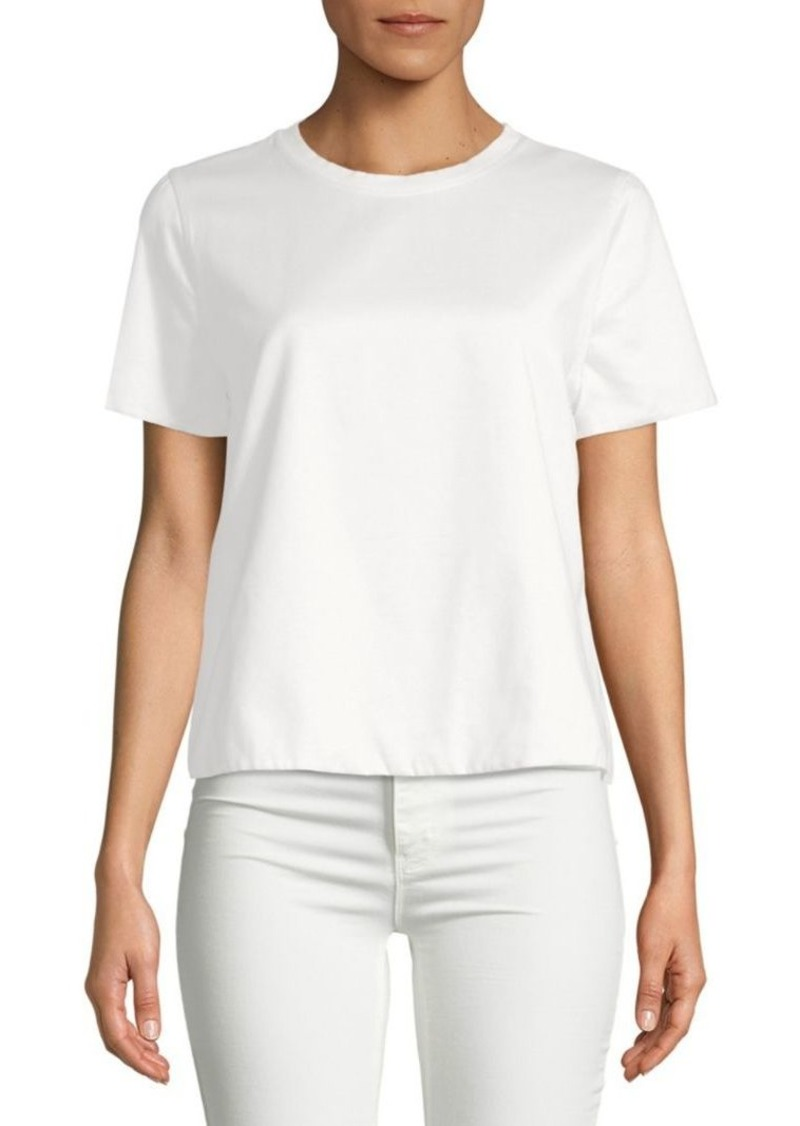 Valentino Cropped Cotton Tee
