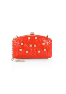 Valentino Crystal Studded Convertible Clutch
