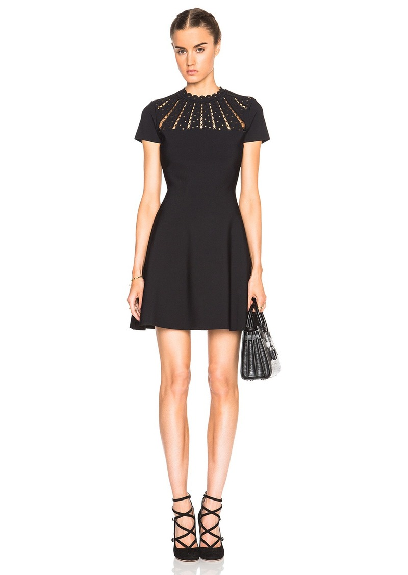 Valentino Cut Out Neck Dress