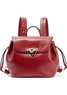 Valentino Garavani Demilune studded leather backpack