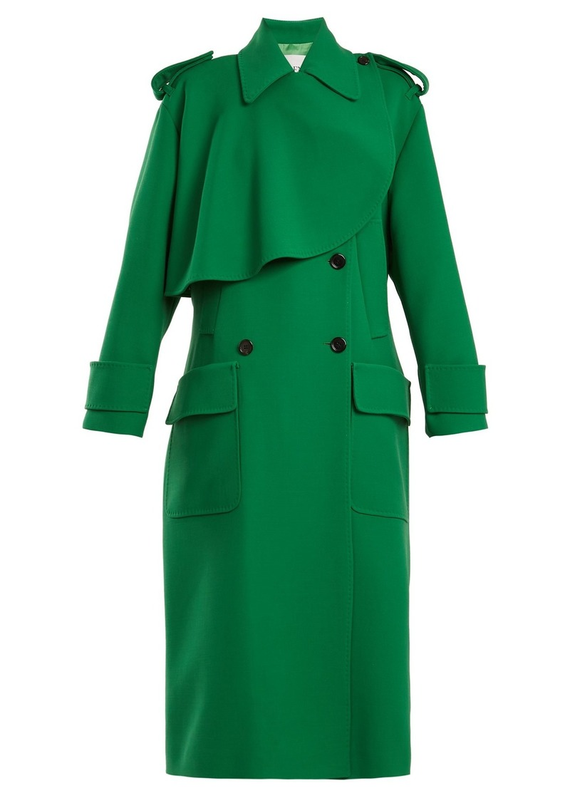 112a134d5a2 On Sale today! Valentino Valentino Double-breasted wool trench coat
