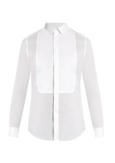 Valentino Double-cuff cotton shirt