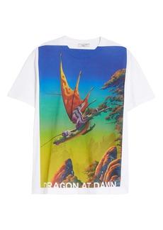 Valentino Dragon at Dawn Graphic Tee