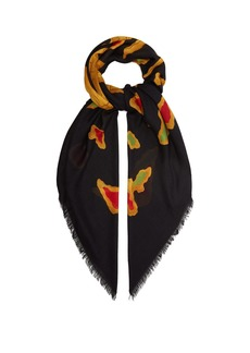 c44c6ade0 Dragon-print modal and cashmere-blend scarf
