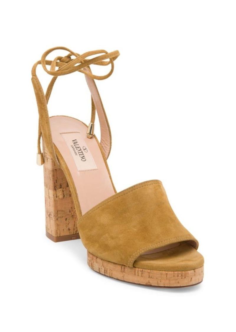 Femmes Erin B. Femmes Erin B. Suede Ankle-tie Sandals Valentino Daim Sandales Cravate Cheville Valentino Collections Livraison Gratuite 9j7We6sH9