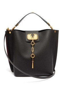 Valentino Escape V-logo leather shoulder bag