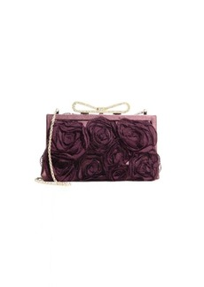 Valentino Extra Small Floral Applique Clutch