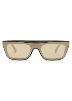 Valentino Flat-top acetate sunglasses