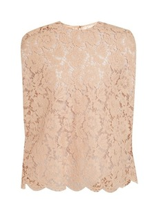 Valentino Floral-lace top