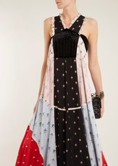 Valentino Floral-print chiffon dress