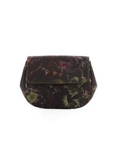 Valentino Floral-Print Fabric Clutch Bag