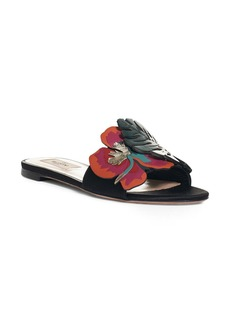 Valentino Floral Slide Sandal (Women)