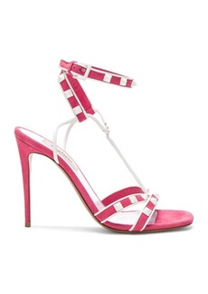 Valentino Free Rockstud Ankle Strap Sandals