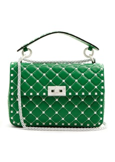 Valentino Free Rockstud Spike quilted-leather shoulder bag