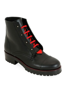 Valentino Garavani 2040 Rouge Bond Combat Boots