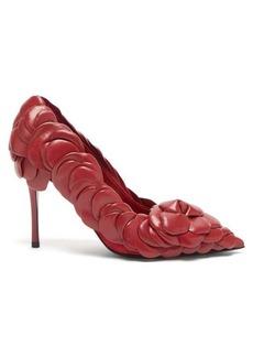 Valentino Garavani Atelier petal-effect leather pumps