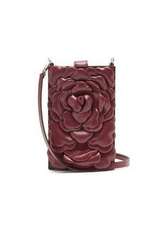Valentino Garavani Atelier mini petal-effect leather bag
