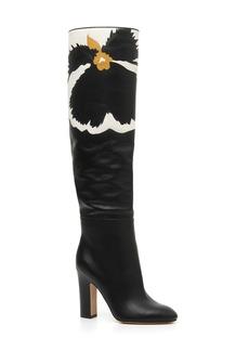 VALENTINO GARAVANI Bloom Block Heel Boot (Women)