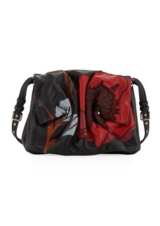 Valentino Garavani Bloomy Floral Calf Leather Shoulder Bag