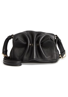 VALENTINO GARAVANI Bloomy Grained Leather Mini Shoulder Bag