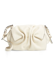 VALENTINO GARAVANI Bloomy Grained Leather Shoulder Bag