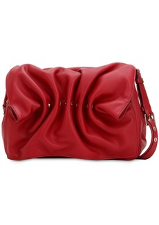 Valentino Bloomy Leather Shoulder Bag