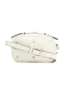 f6a9e253be6 Valentino Valentino Small Quilted Free White Rockstud Spike Belt Bag ...