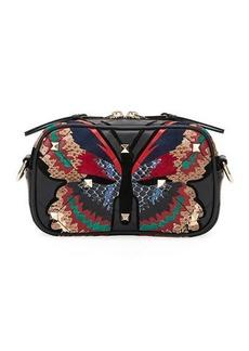 Valentino Garavani Boomstud Small Butterfly Crossbody Bag