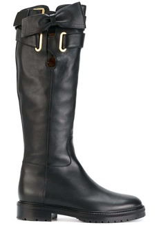 Valentino Garavani bow wrap boots