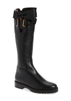VALENTINO GARAVANI Bowrap Knee-High Boot (Women)